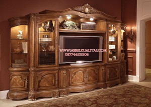 bufet tv kayu