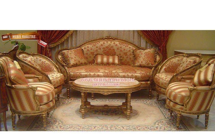 kursi tamu sofa romawi (kts 005)