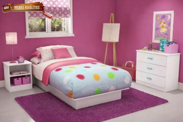 kamar set anak kta 002 | kamar tidur set anak minimalis kta 002