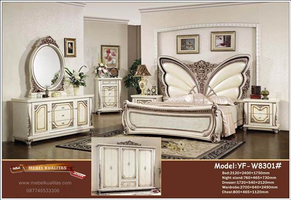 classic-furniture-bed butterfly 1