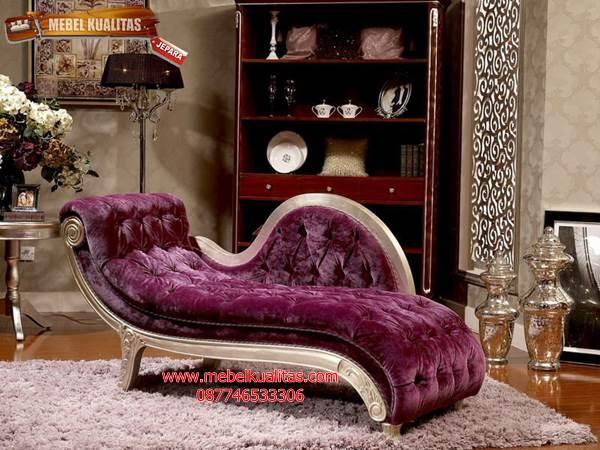 kursi malas sofa  klasik  mewah pinguin BGK C001