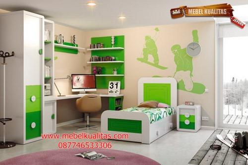 kamar set anak boys mewah KTM AE034