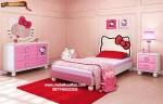 Set kamar tidur mewah hello kitty KTM AO018, kamar tidur anak Hello kitty KTM AO018, jual harga, kamar anak, hello kitty, model, mewah, murah, berkualitas, kualitas, terbaru, ukir, klasik, disain, ekspor