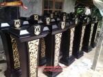 Mimbar pidato SBY MBR B011, Mimbar podium Jokowi MBR B011, Mimbar podium pidato terbaru Jokowi MBR B011, jual, harga, model, disain, kualitas, berkualitas, terbaru, murah, mimbar, terbaik, ukir, klasik