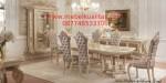 Kursi makan set mewah klasik Casual KM BE 009, Kursi makan sofa set mewah klasik Casual KM BE 009, jual, harga, model, gambar, foto, terbaik, terbaru, berkualitas, kualitas, modern, murah, mewah, ekspor, terjangkau, klasik,