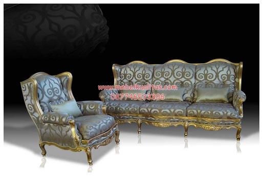 Kursi tamu sofa klasik Roneir KTS AG 046