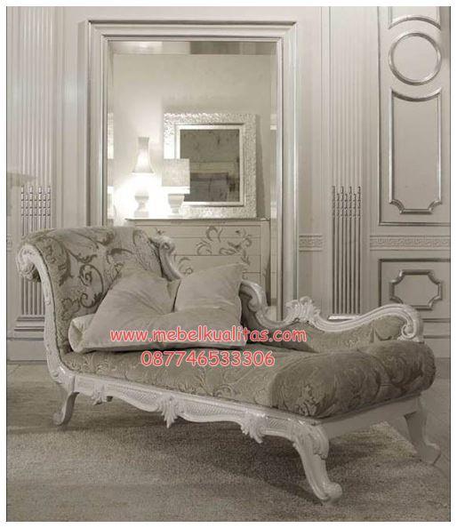 Kursi tamu sofa Cleopatra longue KTS FO 068