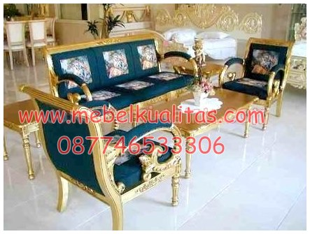 Kursi tamu sofa Davinci KTS AE042