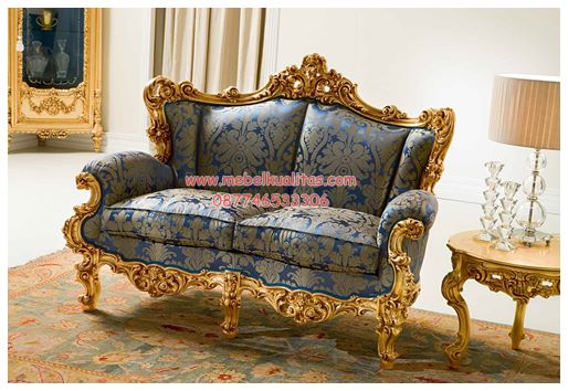 Kursi tamu sofa Eolo Seater KTS AB 060