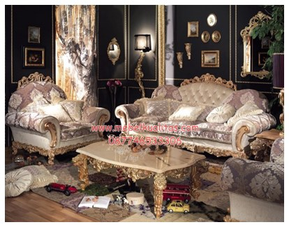 Kursi tamu sofa Luxury-Italian KTS BE 053