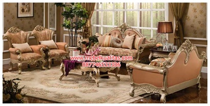 Kursi tamu sofa Notingham KTS BF 038