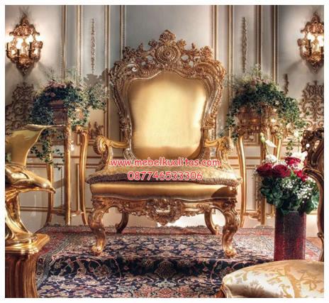 Kursi tamu sofa throne KTS AE 071