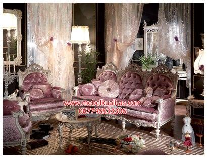 Kursi tamu sofa ukir Goethe KTS BI 041