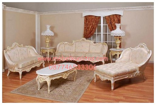 Kursi tamu sofa victorian-chaise KTS BI 065