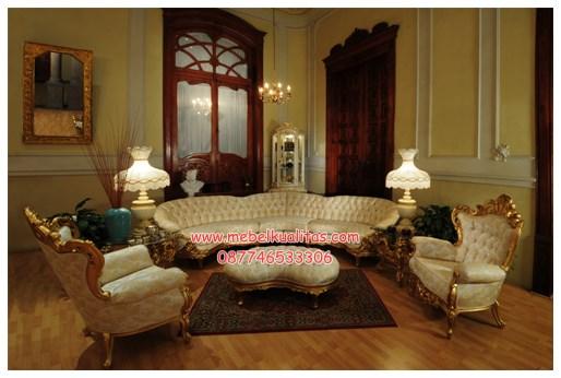 Kursi tamu sofa victorian-section KTS BH 070