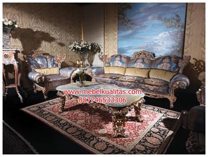 kursi tamu sofa klasik casablanca KTS CO030