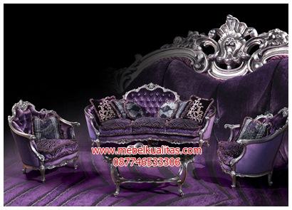 kursi tamu sofa klasik vincent KTS BG032