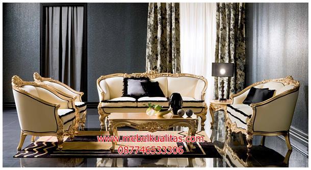 kursi tamu sofa mewah klasik adone KTS BG 025