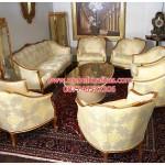 kursi tamu sofa mewah klasik giltwood KTS BE 026