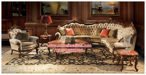 kursi tamu sofa sudut ambasador KTS BH031