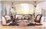 Set kursi tamu sofa mewah Chesterfield KTS BB 078