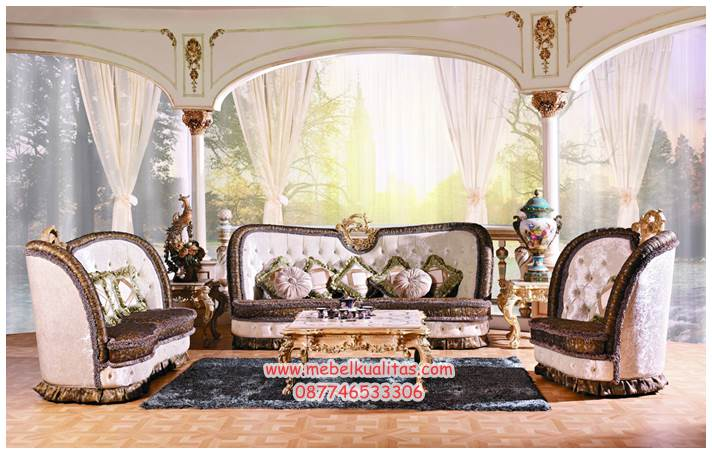 set kursi tamu chesterfield KTS BB 078