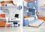 kamar tidur set anak Blue KTM BO 036