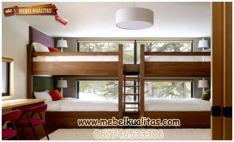 kamar tidur anak tingkat KTM AH 041