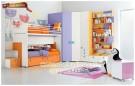 Kamar tidur anak Orange KTM BO 038