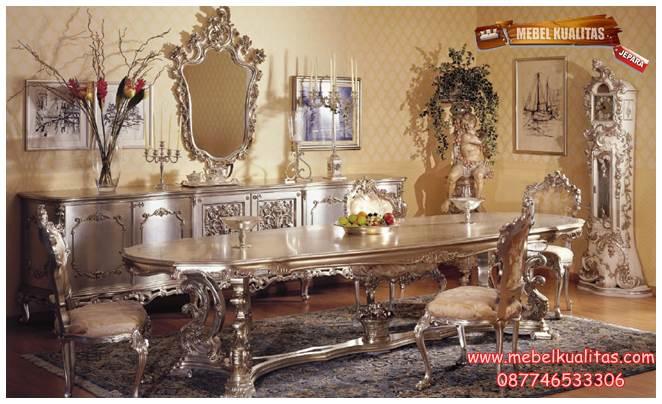 kursi makan ukir Asnagi Bolly KM AH 010