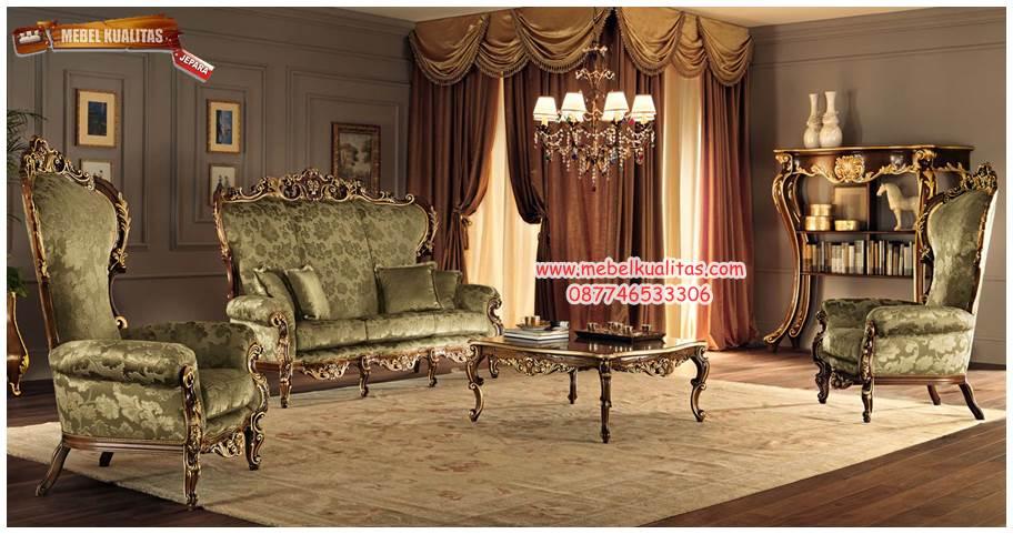 kursi tamu sofa mewah princes KTS AG 082