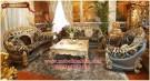 Kursi tamu sofa mewah terbaru Brunello klasik KTS CE 096