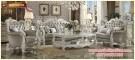 Kursi tamu set sofa klasik mewah Versailles KTS BE 098