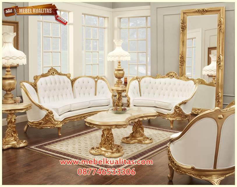 kursi tamu sofa victorian angel KTS BF 104