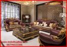 Set kursi tamu sofa klasik mewah terbaru Fabric Jumbo KTS CJ 117, harga, model, jual, desain, kualitas, berkualitas, terbaik, ukir, minimalis, mewah, termurah, ekspor,