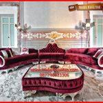 Set Kursi tamu sofa klasik mewah terbaru Royal Queen KTS BO 132