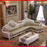 Set kursi tamu sofa klasik-mewah terbaru Craft L KTS AE 141