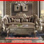 terpopuler kursi tamu sofa klasik mewah terbaru Dresden KTS AH 145