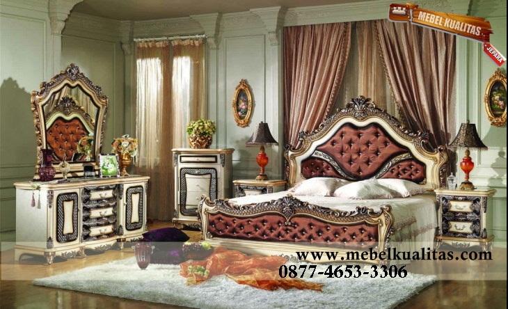 001-Set Tempat tidur Ukiran Klasik, mebelkualitas.com, jual tempat tidur, set kamar tidur mewah, rangka tempat tidur utama, tempat tidur pengantin,