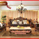 Set kursi tamu sofa klasik terbaru mewah Antik KTS BA 152