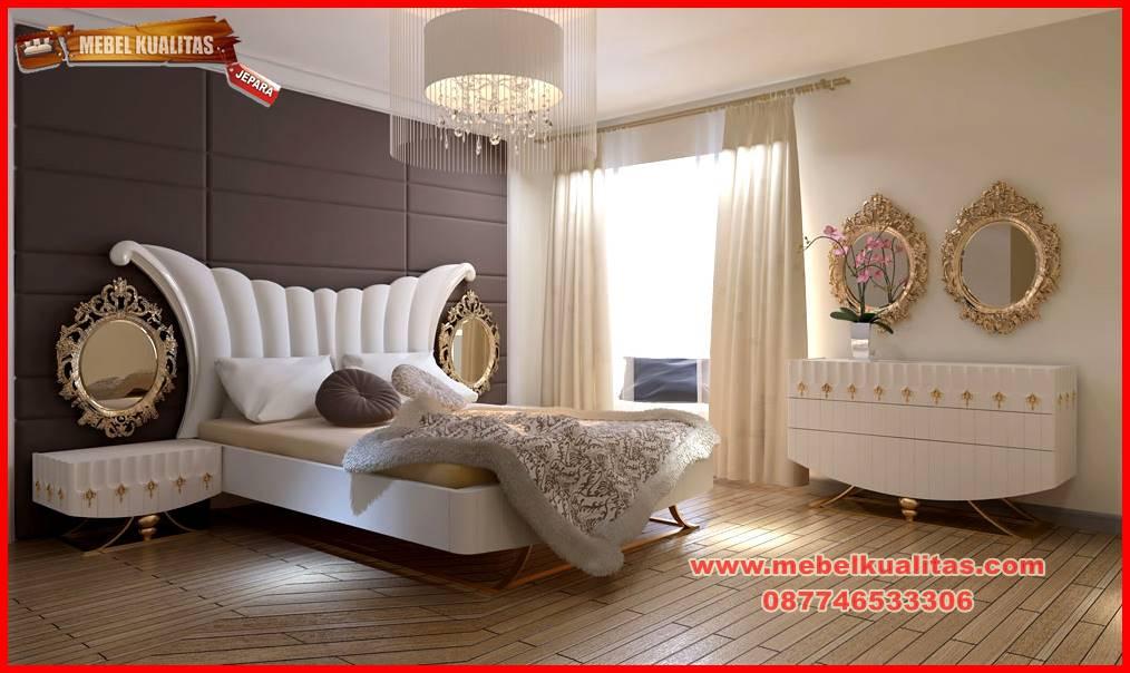 set kamar tidur mewah klasik terbaru Zerafit KTM 068
