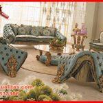 set kursi tamu sofa klasik mewah terbaru Endorgan KTS CE 150