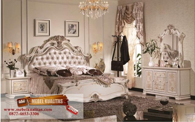 kamar tidur mewah, kamar tidur dewasa, kamar tidur mahoni, harga kamar tidur, mebelkualitas.com