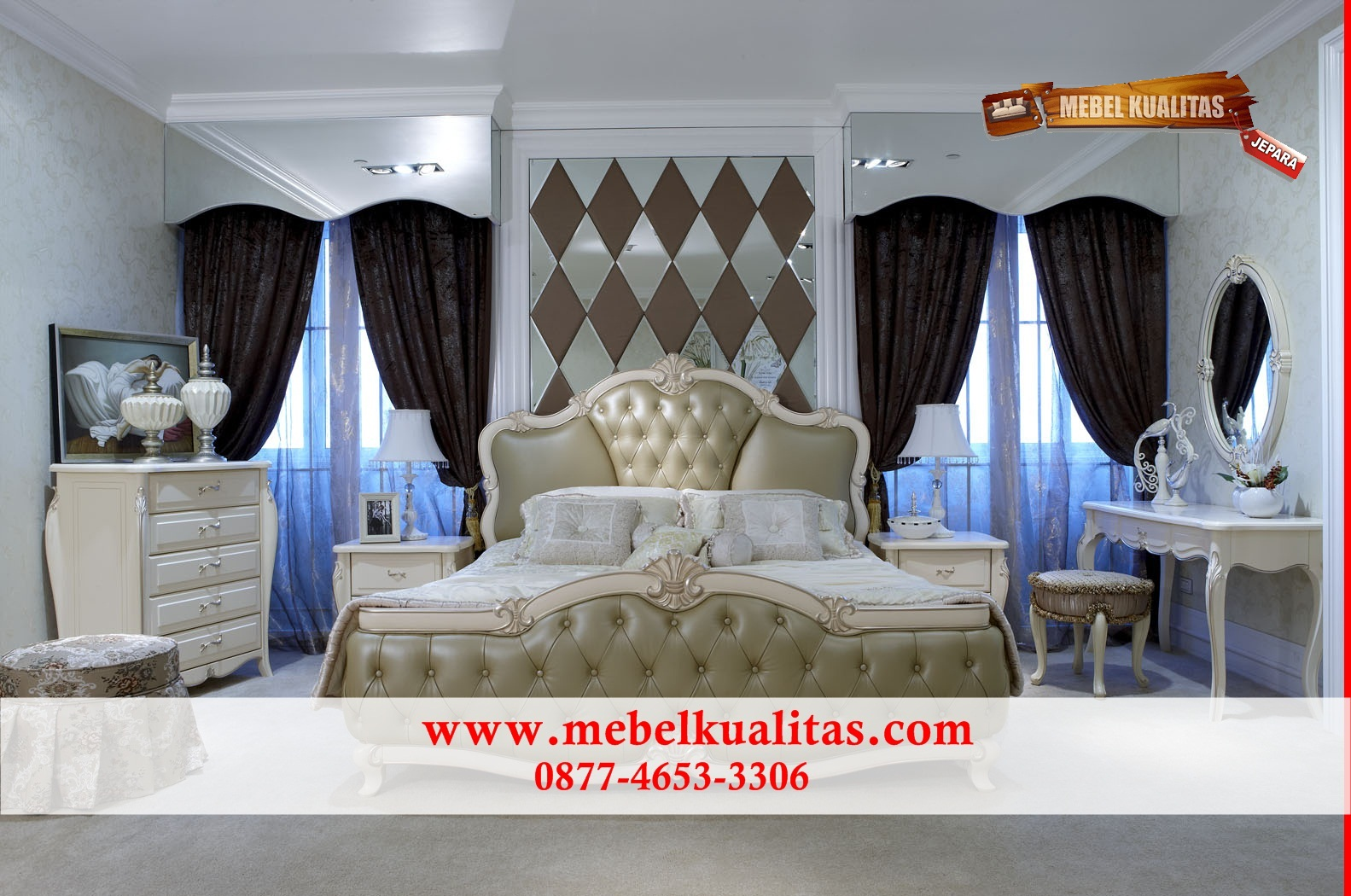 kamar tidur mewah, kamar tidur asli jepara, kamar tidur minimalis, kamar tidur jepara
