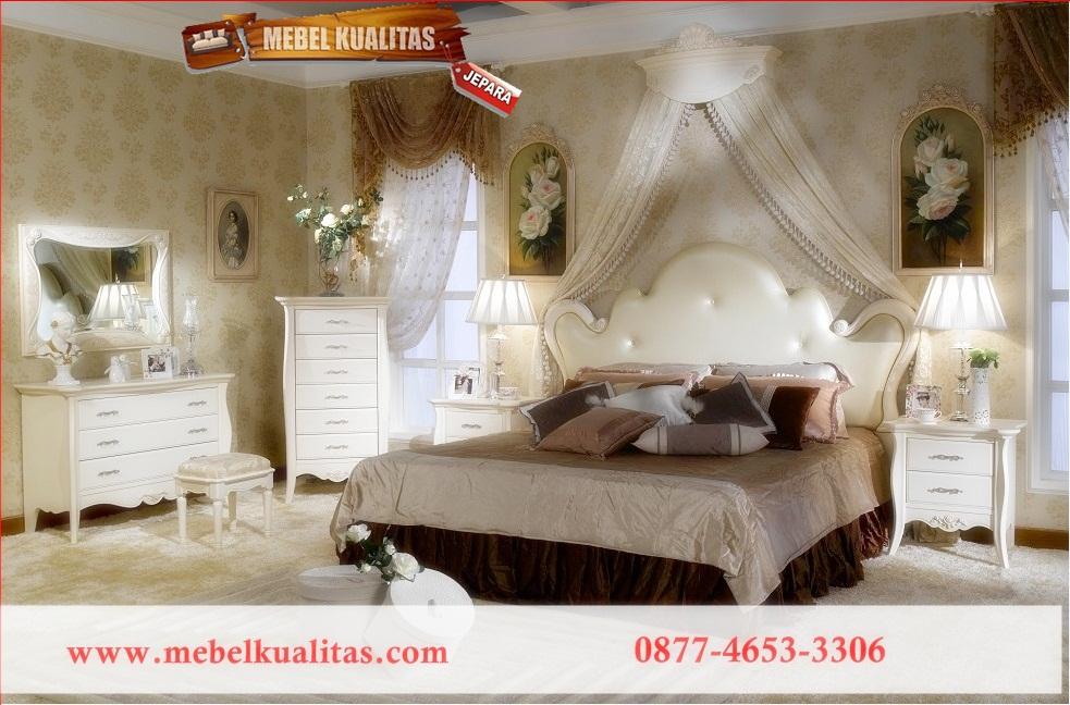 mebelkualitas.com, jual furniture, Kamar Tidur Mewah Fullwhite