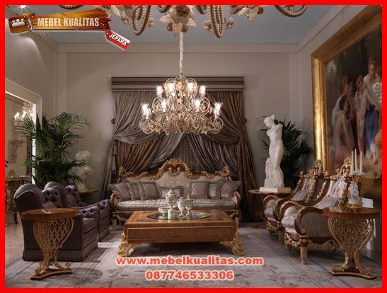 set kursi tamu sofa mewah klasik terbaru hermes KTS CO 153