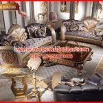 kursi tamu sofa klasik terbaru mewah berkualitas ekspor Spartan KTS CE 160