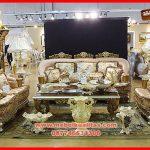 Set kursi tamu sofa klasik mewah terbaru Golden lux KTS BE 165