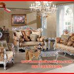 menjual ser kursi tamu sofa klasik mewah untuk ruang keluarga dengan kualitas terbaik