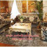 set kursi tamu sofa klasikmewah terbaru KTS CE 159